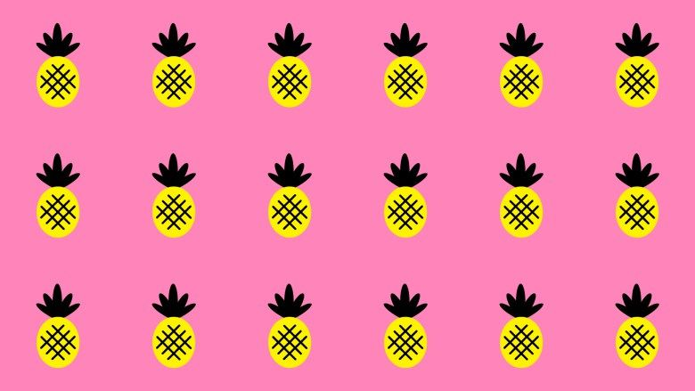 Pink Pineapple Paradise Cute Desktop Wallpaper Free Download Cute Desktop Wallpaper Desktop Wallpaper Summer Desktop Wallpaper