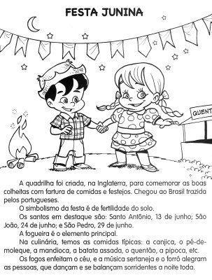 Pedagogiccos Festa Junina Atividades Atividades Sobre Festa