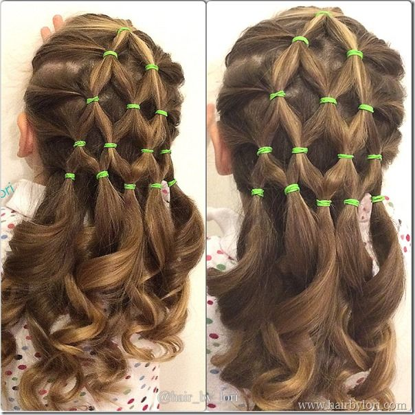 Hair By Lori Hair Styles Flower Girl Hairstyles Wacky Hair