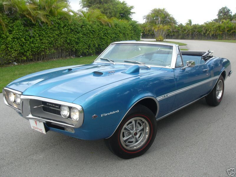 1967 Pontiac Firebird 400 Convertible | Cool Cars / part 2 ...