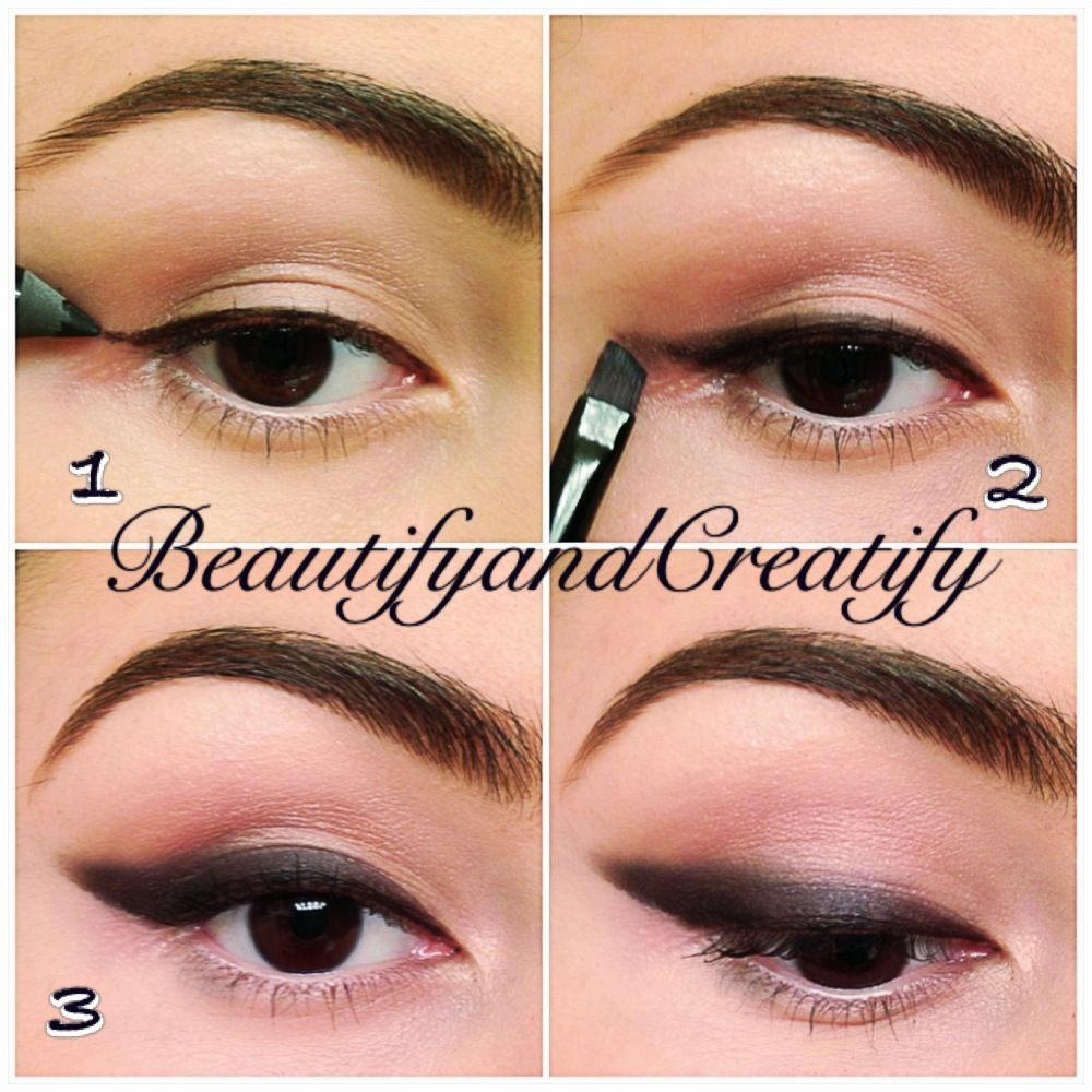 How to make cat eye makeup for small eyes