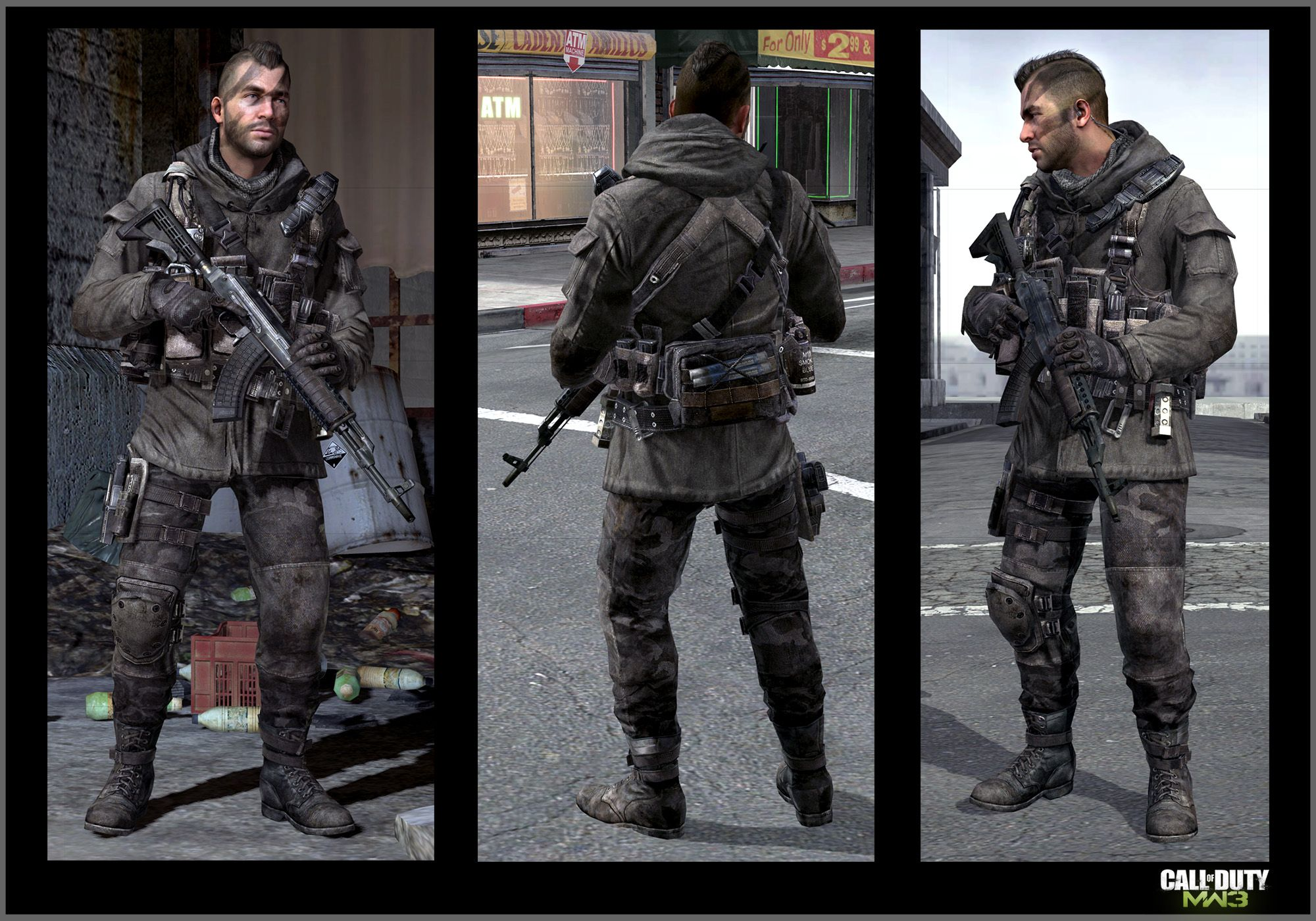 John Soap Mactavish Gallery Call Of Duty Modern Warfare Marketing Images
