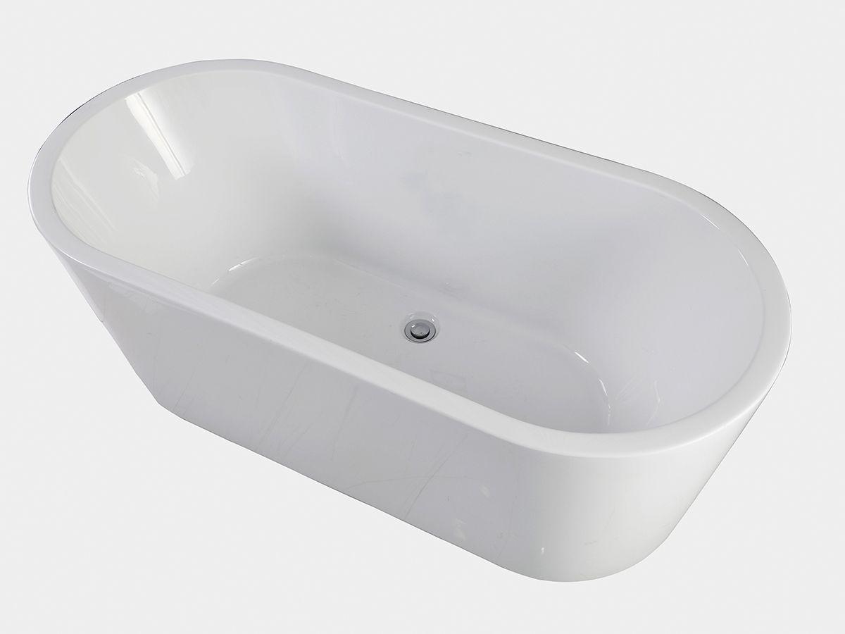 posh-solus-1500-freestanding-bath-9506248 cheaper at $1045 46cm ...