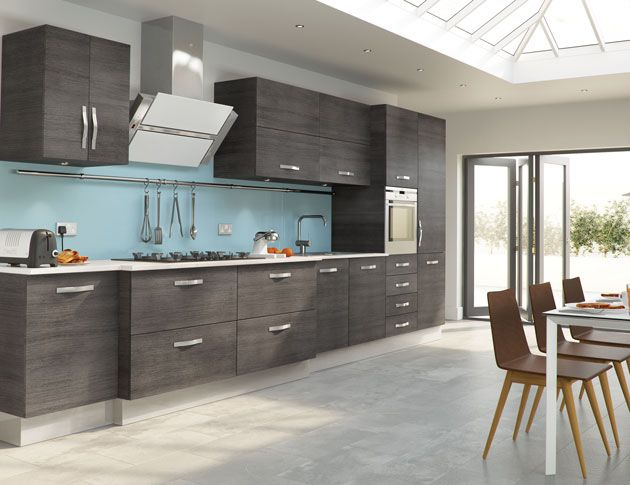 Amazing Grey Kitchen Ideas comely small kitchen design great interior artworks enchanting two ball hanging island lamp over fashionable gray island bar white marble top single sink Mad About Grey Kitchens