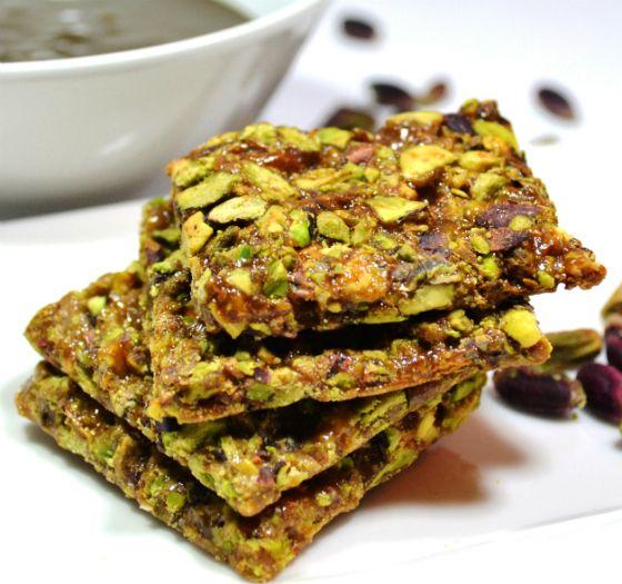 Invitante e ghiotto croccantino al Pistacchio, lo snack ideale da consumare in qualsiasi momento della giornata.