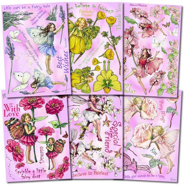 "Flower Fairies Unmounted Stamp Set Bundle - Collection 1 ""CRAFTERS COLLECTION"""