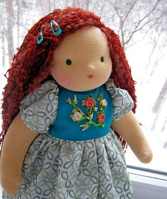 Waldorf doll Eva3  1617 inches 4042cm  baby gift by FavoriteDolls, $180.00