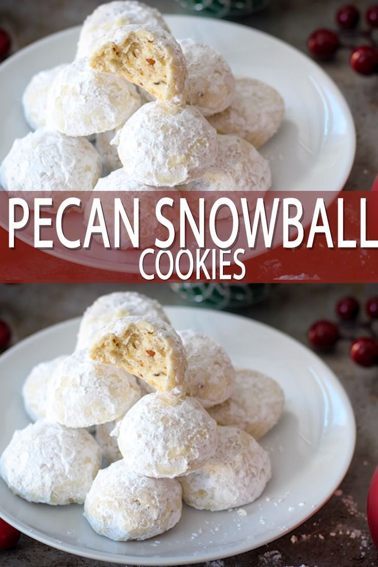 Mexican Wedding Christmas Cookie Recipes 2020 Pecan Snowball Cookies, Mexican Wedding Cookies | Baker Bettie