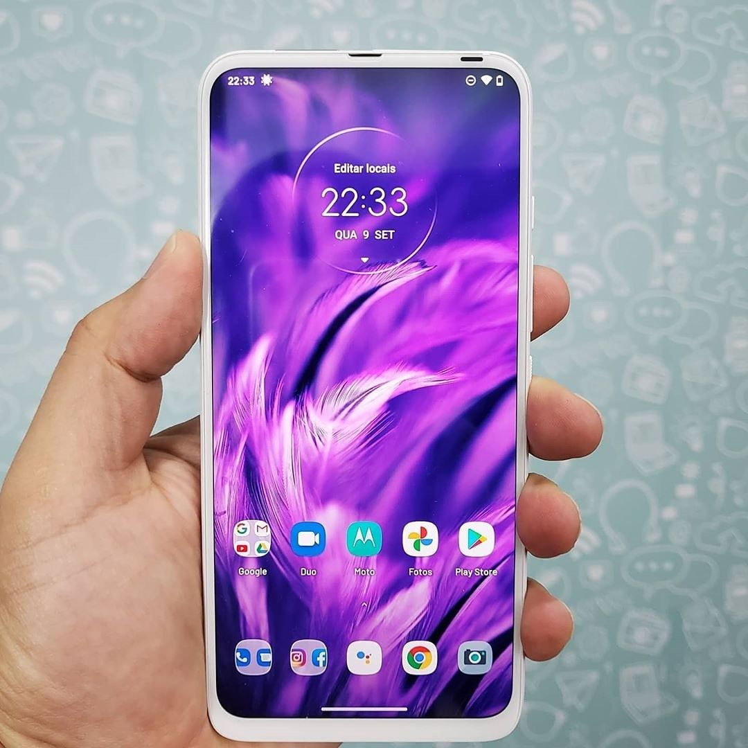 Motorola One Fusion Plus Smartphone Celular Smartphone Smartphone Motorola