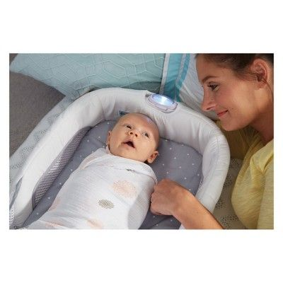 The First Years Close Secure Portable Infant Sleeper White