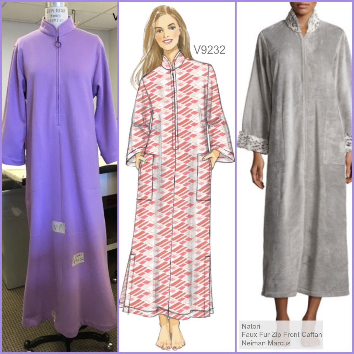 Sew the look vogue patterns v9232 zip robecaftan sewing pattern sew the look vogue patterns v9232 zip robecaftan sewing pattern jeuxipadfo Gallery