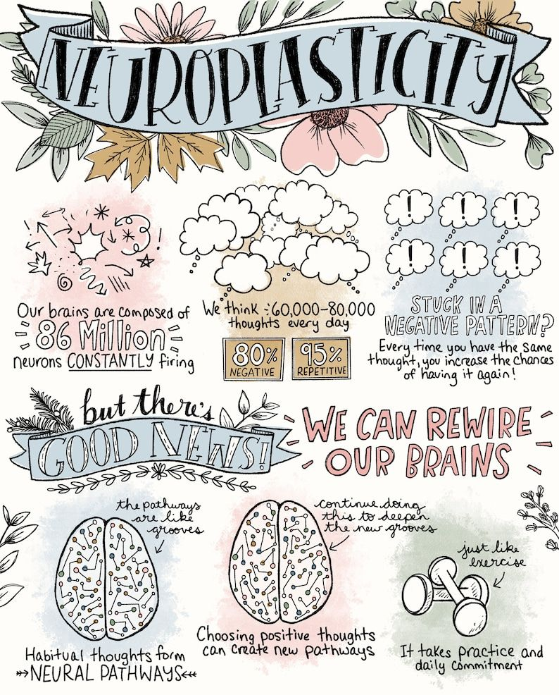 Sketchnote Collection- Compassion, Journaling, Mindfulness/Self-Compassion/Gratitude, Mindset, Neuroplasticity - Therapy 8x10 Bundle Pack