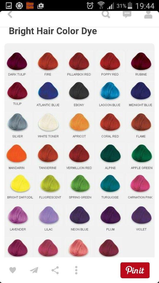Hair Color Chart Hair Do In 2019 Pinterest Dyed Hair Hair