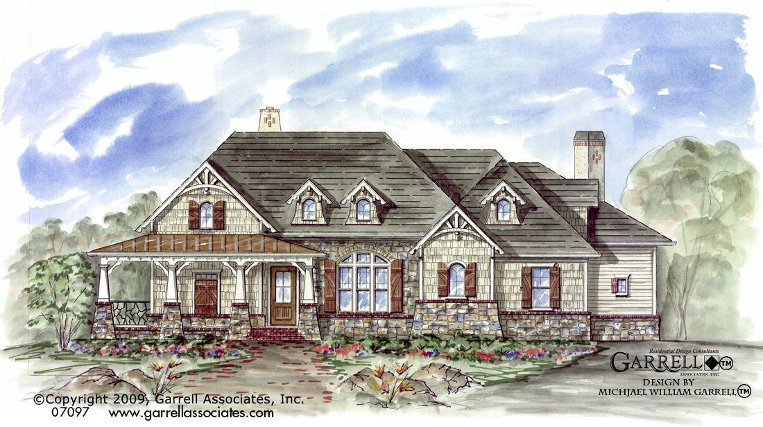 Birch River Cottage House Plan 07097 Garrell Associates Inc Craftsman Style House Plans Ranch Style House Plans River Cottage