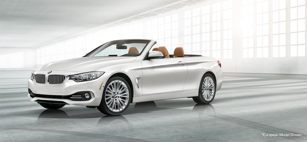 The 4 Series Convertible in Mineral White metallic. See more BMWs at www.carsquare.com #auto #cars #Eurocar #Germanauto