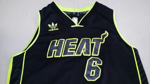 online store cc6da 9503b ADIDAS Miami Heat LeBron James Limited Edition NBA Jersey ...