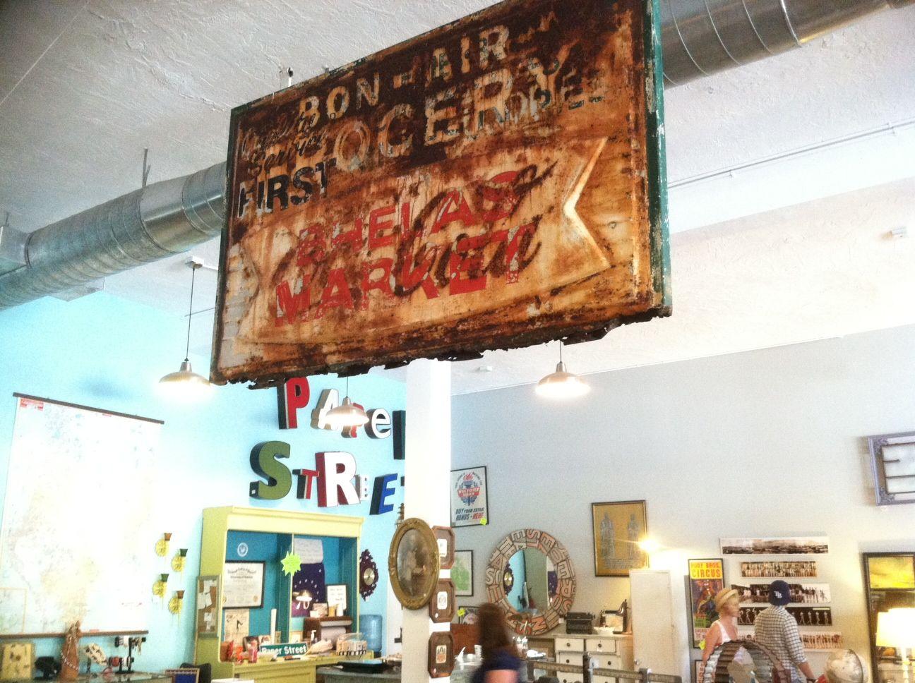 Paper Street Market, St. Pete, FL. Antique stores, Paper