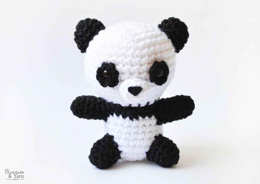 Pete the Little Panda Crochet Pattern - Instant PDF Download by ...
