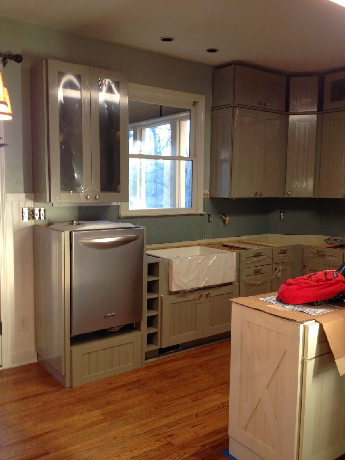 Kitchen Remodel With Martha Stewart Cabinets Kitchen Remodel Small Kitchen Remodel Kitchen Design Small