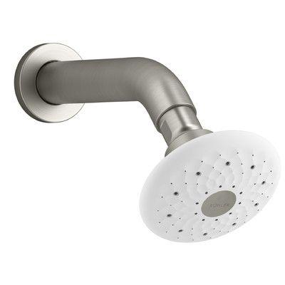 Kohler Exhale B90 1.5 GPM Multifunction Showerhead Finish: Vibrant Brushed Nickel