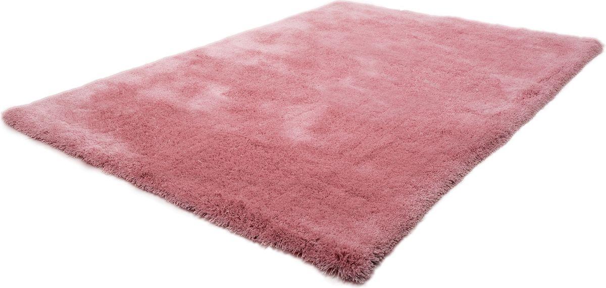 Kuschelteppich Montapis Sansibar Altrosa Rugs Hochflor Teppich