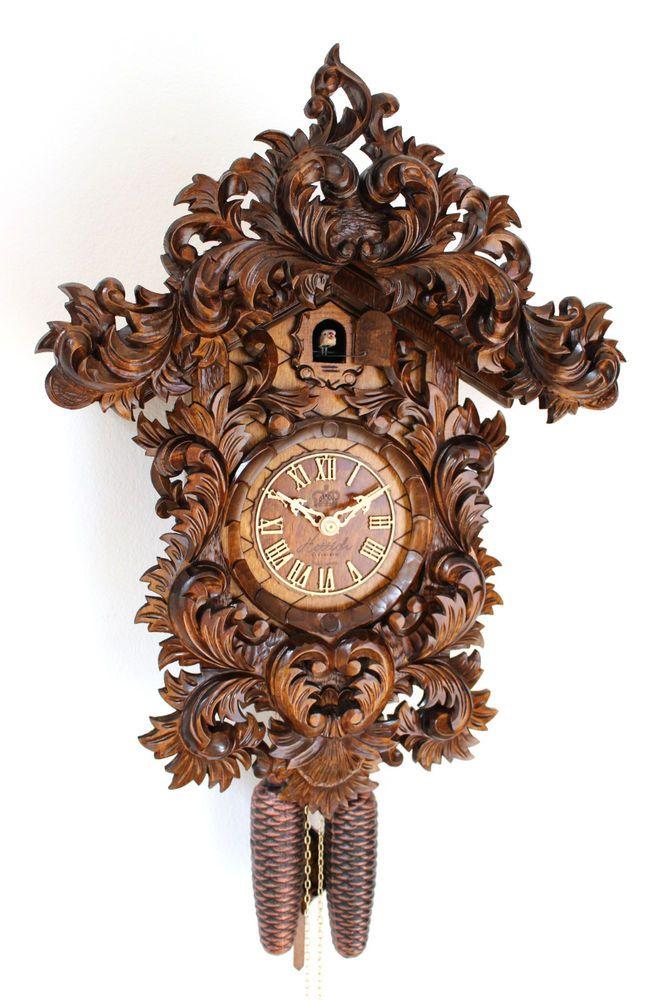 Exclusive Original Black Forest Cuckoo Clock Your Specialist For German Cuckoo Clocks The Cuckoo Calls Every Half And Full Hour H Cuckoo Clock Cuckoo Clock