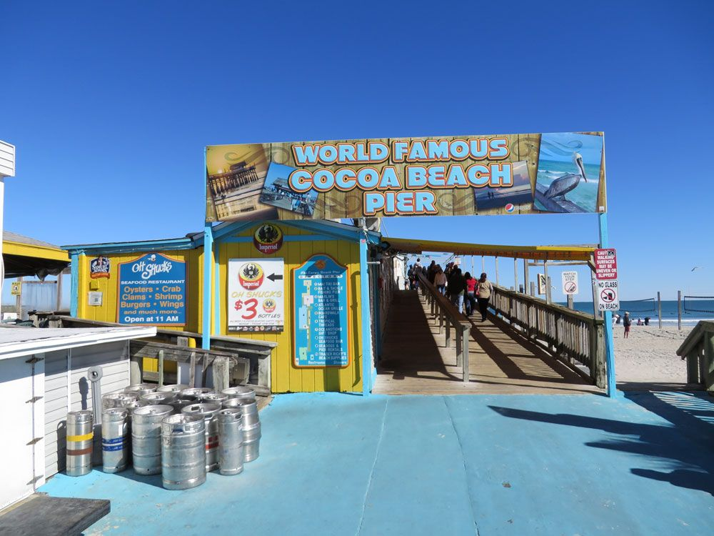World Famous Cocoa Beach Offers Rocket Launch Views Cl Surfing And Beautiful Beaches Join Us On A Tour Of Some Hot Spots