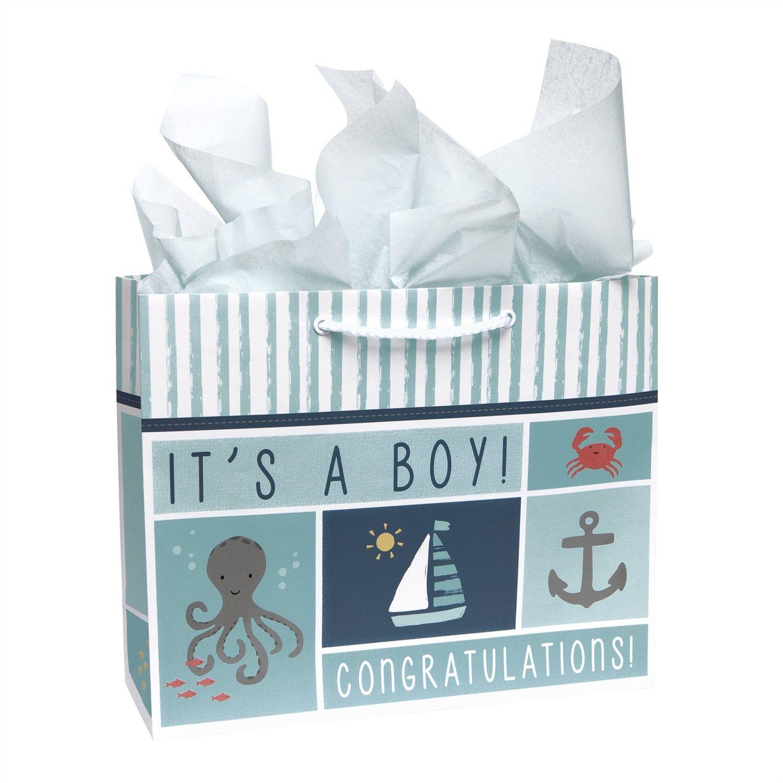Large Embellished Gift Bag  Under The Sea  Stationery