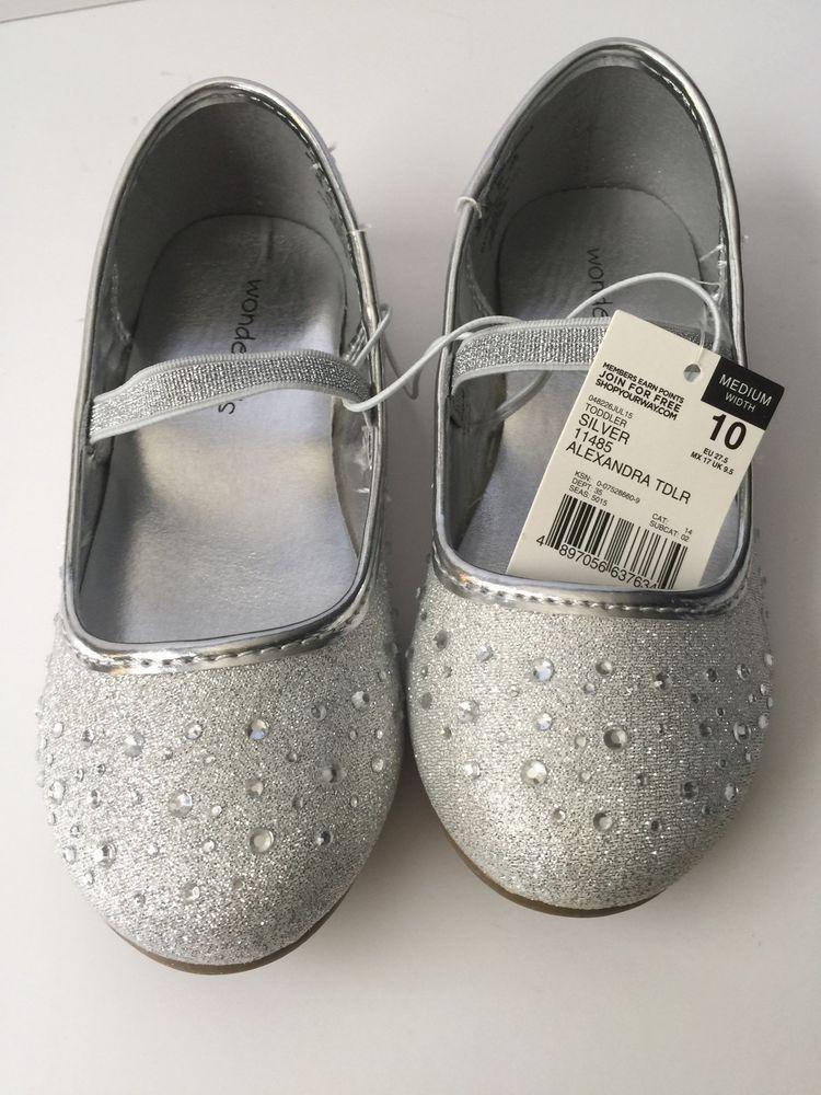 53c48b7d7 Girls Shoes Silver Sparkling Alexandra Size 10 Toddler Wonderkids Easter  #Wonderkids #DressShoes #PartyHolidayEasterPageant