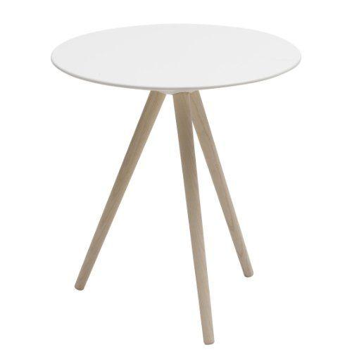 Tischplatte weiß  Softline Circo Beistelltisch, esche Tischplatte weiß ...