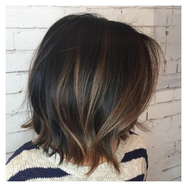 50 Chocolate Brown Hair Color Ideas for Brunettes ❤ liked on ...
