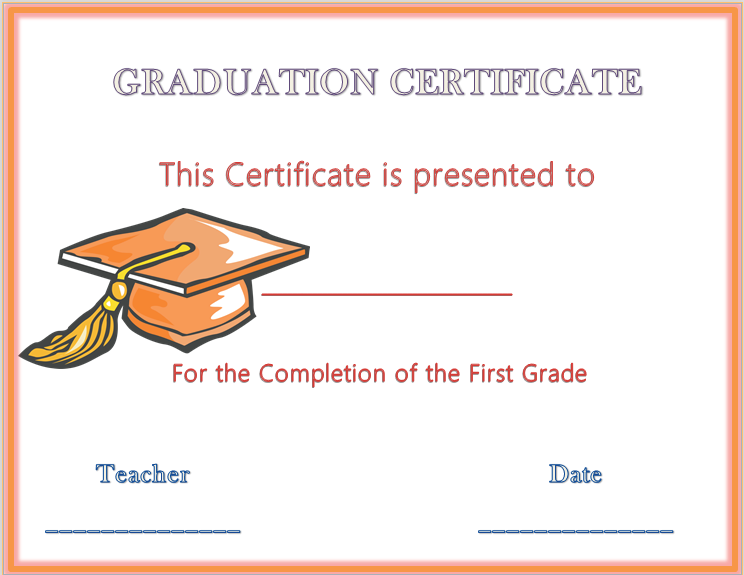 Hats off graduation award certificate award certificate templates graduation certificate template free free graduation certificate templates customize online free printable graduation certificate big dot of happiness yadclub Images