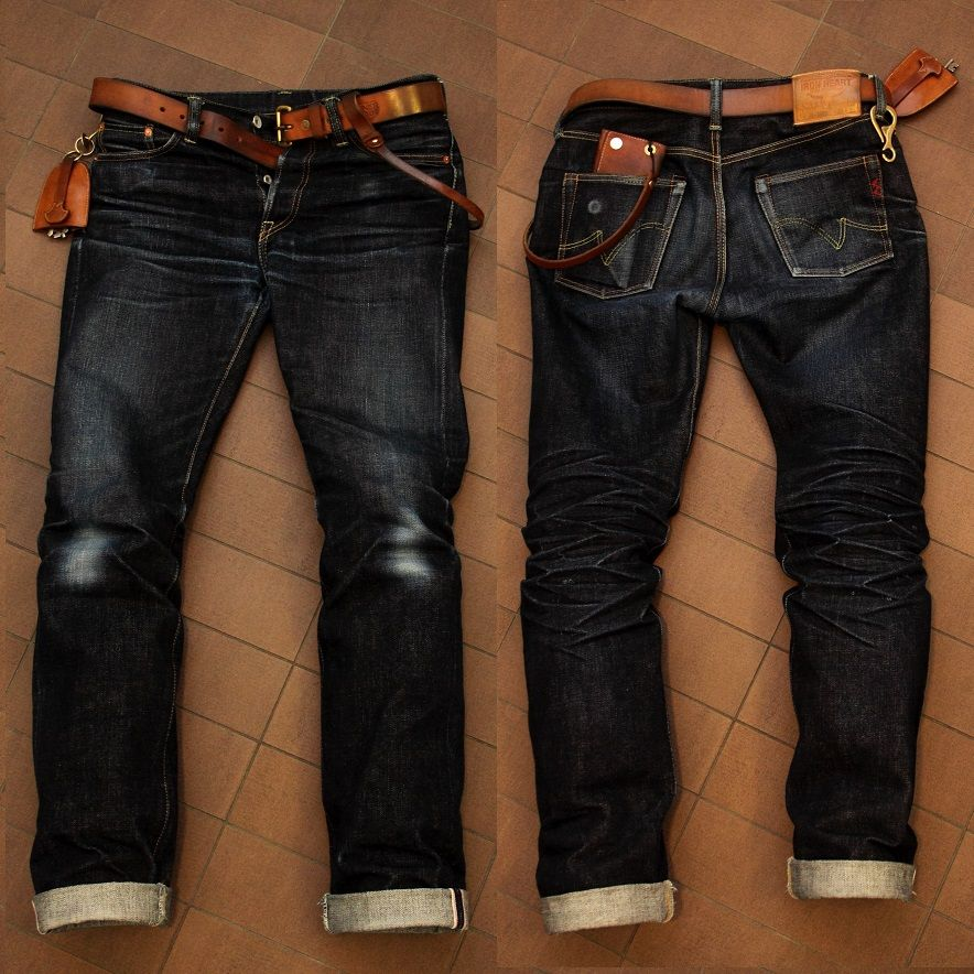 Iron Heart-666's #rawdenim #selvedgedenim ⓀⒾⓃⒼⓈⓉⓊⒹⒾⓄⓌⓄⓇⓀⓈ