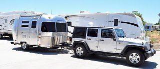 Jeep Towing Airstream My Dream Setup