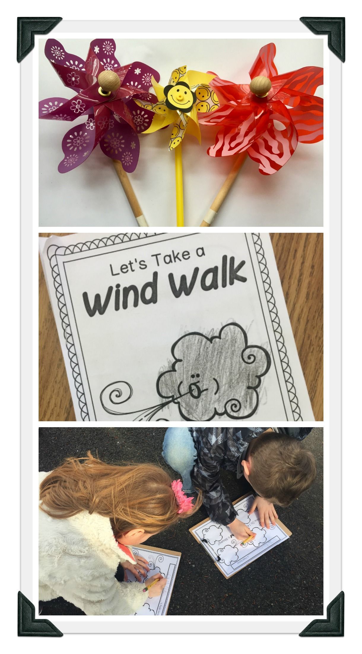 Wind Nature Walk Preschool And Kindergarten Weather