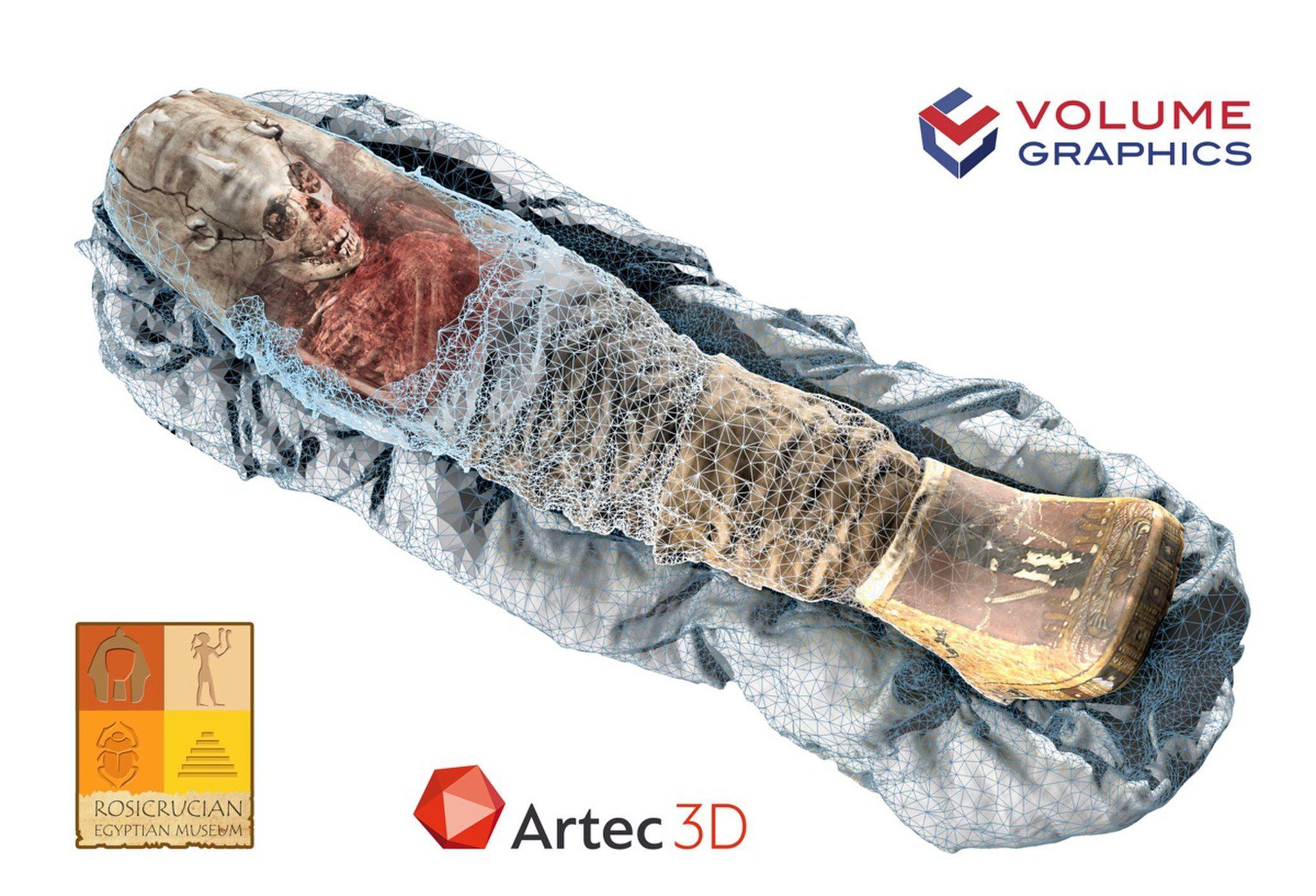 Acontece en el Mundo: Tecnología muestra momia de 2.000 años de una niña...