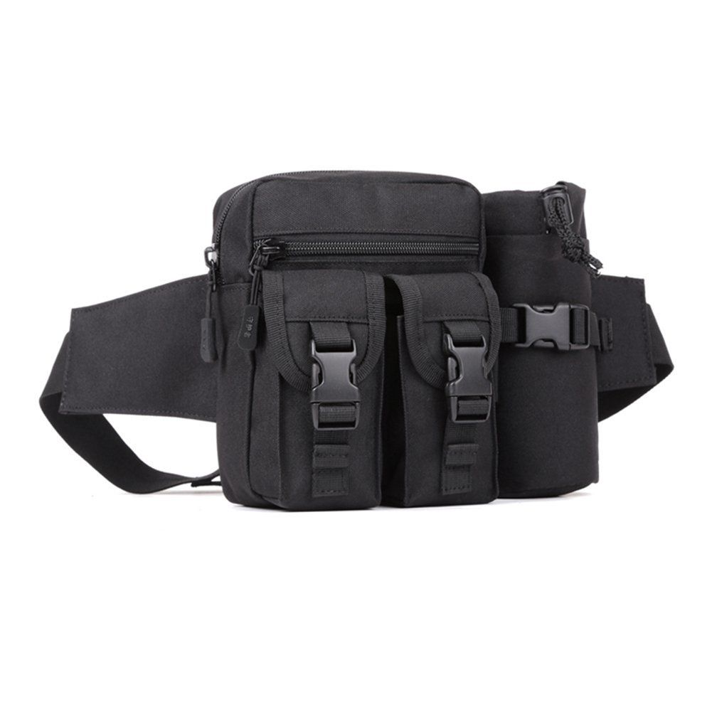 Fine Jewelry Men Waterproof 1000d Nylon Waist Fanny Pack Tactical Military Sport Army Bag Hiking Fishing Hunting Camping Travel Hip Bum Belt 2019 New Fashion Style Online