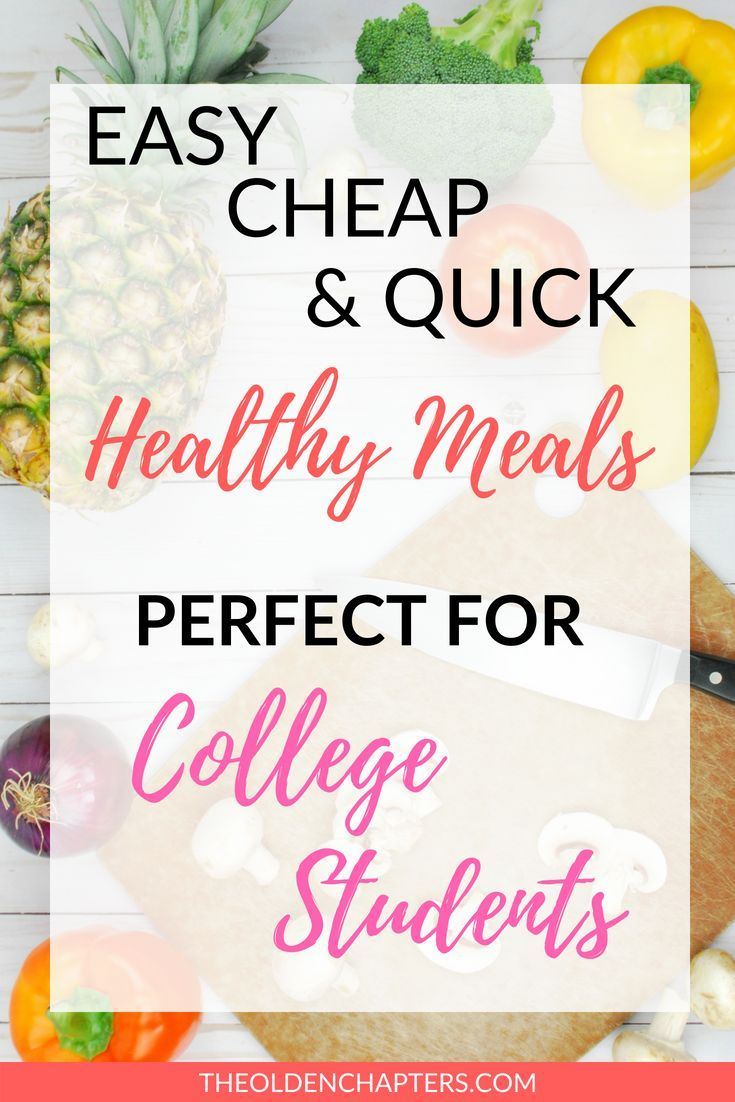 How to Eat Healthy in College images
