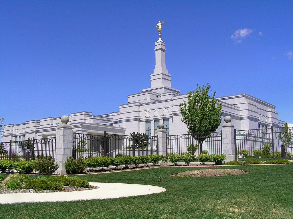 Reno, Nevada, LDS temple. | Mormon temples, Temple, Lds