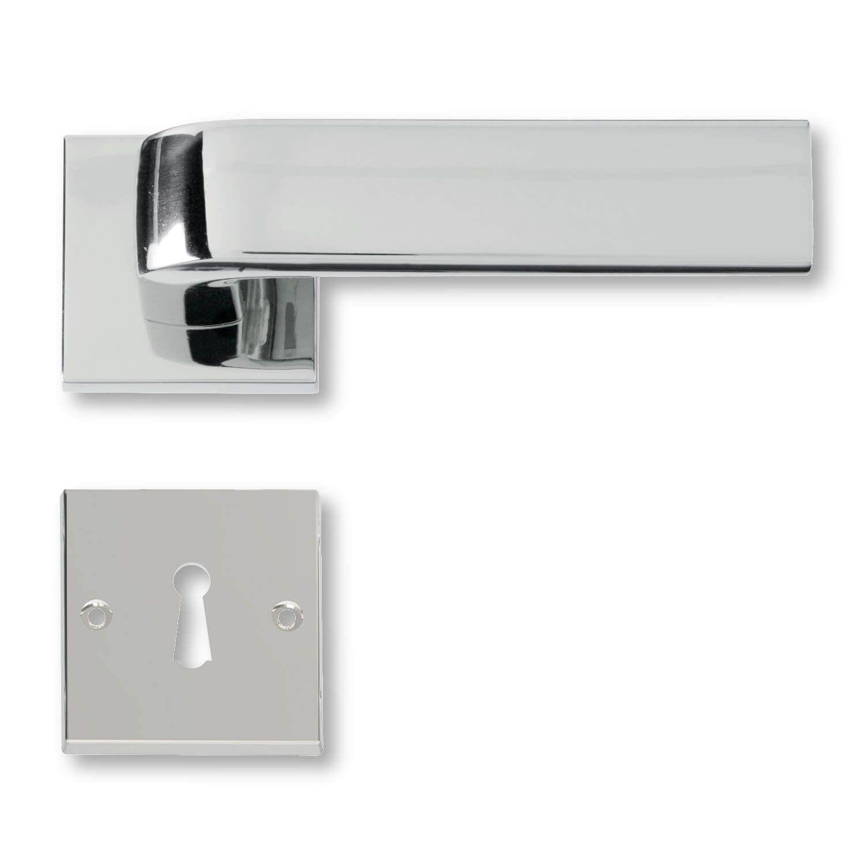 Door handle interior Polished chrome - 1930 - C05411 - Italian door ...