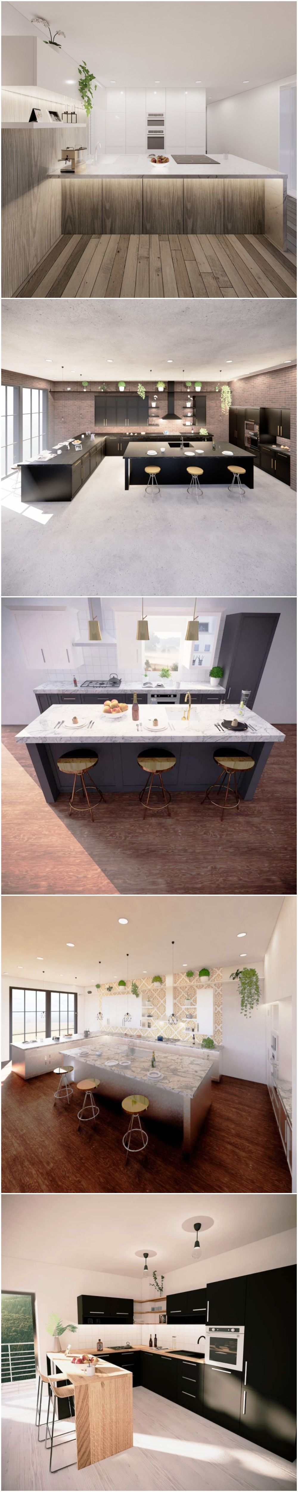 Revit Family Kitchen Cabinets 1000 Possibilities In 2020 Revit Family Family Kitchen Parametric