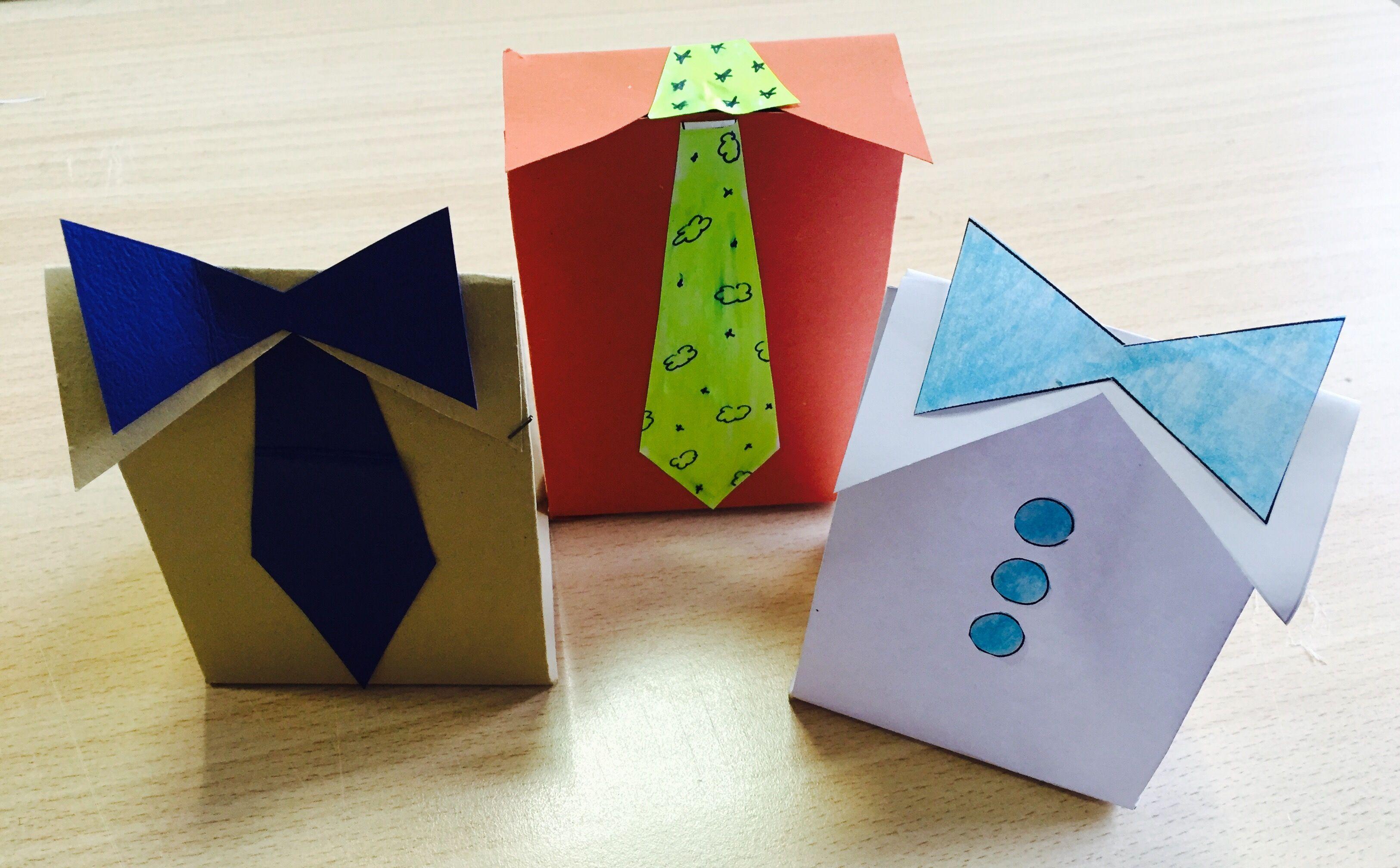 Come realizzare una scatolina regalo per la festa del Papà. | IL LABORATORIO DI CHIARA E CATIA