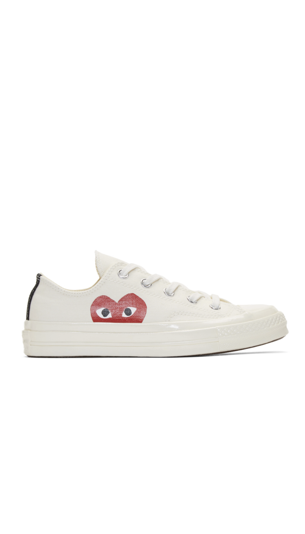 8d2dd5319afc Comme des Garçons Play Off-White Converse Edition Chuck Taylor All-Star  70  Sneakers from SSENSE (men