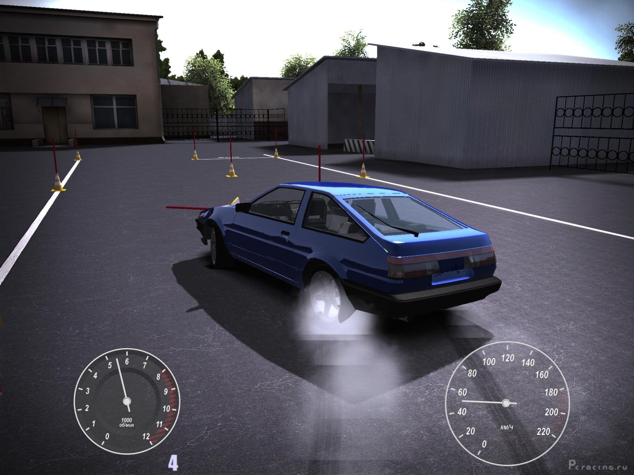 Скачать симулятор вождения автомобиля на компьютер бесплатно