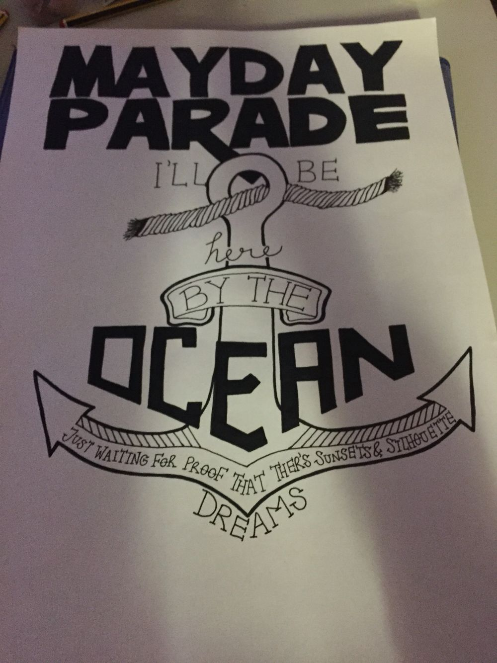 Mayday parade lyrics  By Charley cumberledge