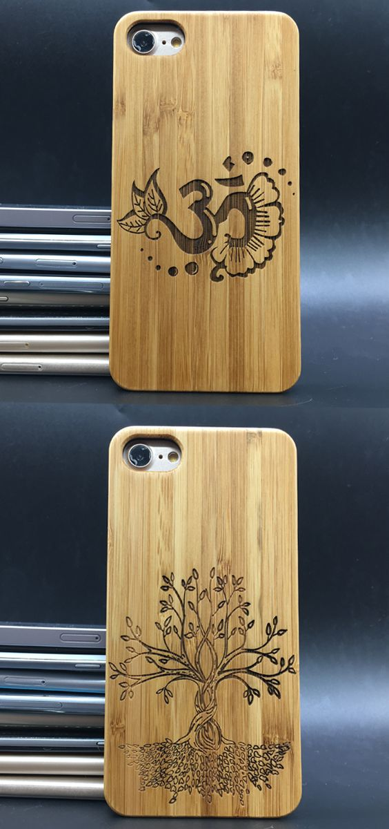Wood Wooden Case Cover Phone Om Tree Of Life Sign Symbol