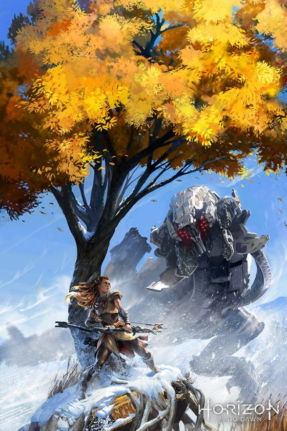 Horizon Zero Dawn Phone Wallpaper Games Jogos Ilustracoes Guerrilha