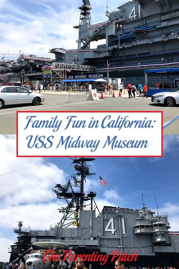 Family Fun in California USS Midway Museum Midway