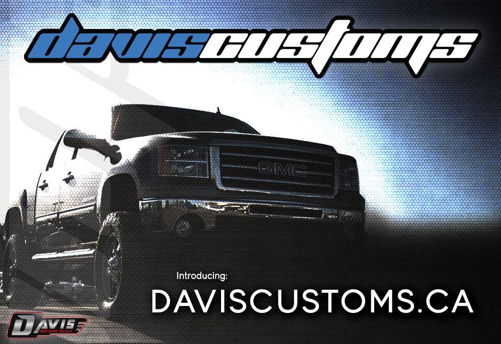 Take Your Custom Truck To Davis Gmc Buick Buick Gmc Buick