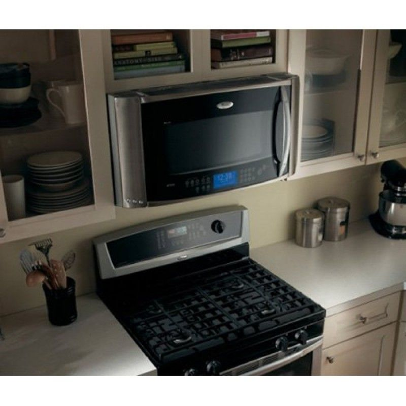 Gold 2.0 Cu. Ft. Stainless Steel Over-range Microwave Oven Steamers And